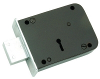 Steel Door Lock Plain